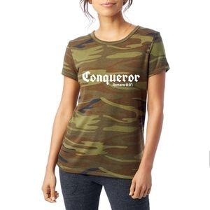 Conqueror Women's Tee (Camo)